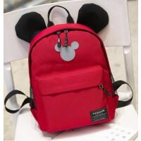 小可爱儿童书包幼儿园宝宝背包--岁男女旅游双肩包女童包包潮 红色大号 可放A课本