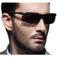 时尚铝镁运动高清男士墨镜 新款铝镁偏光太阳镜男开车钓鱼驾驶眼镜 支持礼品卡