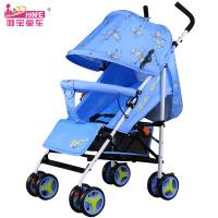 呵宝 婴儿车推车超轻便携折叠可坐可躺儿童宝宝小孩手推车bb伞车
