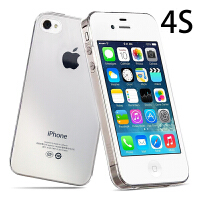 iPhone 4s 手机无锁白色联通3G移动电信32G老人备用赠手机壳 4S 白色【32G三网】套餐二