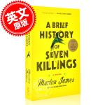 现货 七杀简史 英文原版 小说 马龙 詹姆斯 A Brief History of Seven Killings 平装
