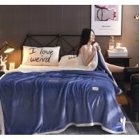 贝贝绒毯 纯色毯子双层加厚毛毯婚庆高端产品