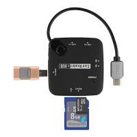 联想YOGA A12电脑配件转接器Type-c转USB连接键盘 鼠标hub集线器
