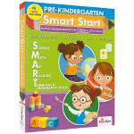 Evan-Moor Smart Start Pre K 聪慧启蒙 美国加州教辅 学龄前6科英语启蒙 儿童英文原版图书进