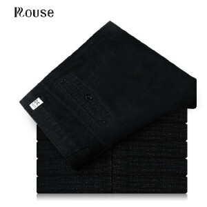 Rouse洛兹男正品 秋装新款 修身黑色男士商务休闲裤 KX1235 系列