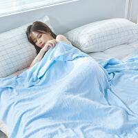 纯棉老式怀旧毛巾被儿童婴儿双人单人盖毯夏季薄款被子午睡小毯子