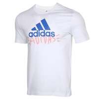 Adidas阿迪�_斯男�b�\�有蓍e透��A�I短袖上衣T恤FN1728