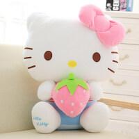 毛绒布艺 hello kitty公仔大号哈喽kt娃娃凯蒂猫玩偶抱枕毛绒玩具女生