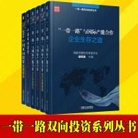 【正版现货】一带一路双向投资丛书 全6册 国家发改委 徐绍史 企业对外投资研究外资利用
