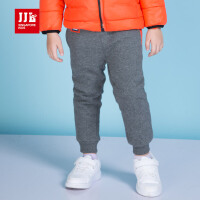 季季乐童装男孩加绒针织裤男小童保暖休闲长裤