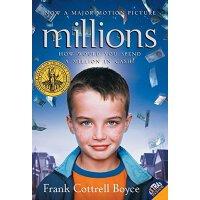 英文原版 百万小富翁 电影原著小说 英国卡耐基儿童文学奖 Millions 百万小宝贝 Frank Cottrell