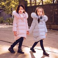 儿童羽绒服男女童加厚外套宝宝童装连帽2017新款保暖冬装中大童