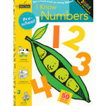 I Know Numbers (Pre-school, Little Golden Book) 我会数数(金色童书,学龄前练习册)ISBN 9780307036711