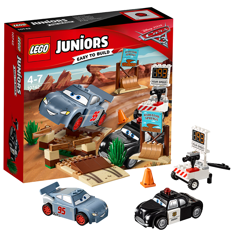 [当当自营]LEGO 乐高 Juniors小拼砌师系列 威利山丘的速度训练 积木拼插儿童益智玩具10742 适合4-7岁,95pcs小颗粒积木
