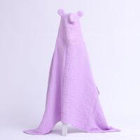 婴儿浴巾 无荧光 6层纱布披风婴童浴巾 柔软舒适 吸水性强更肤