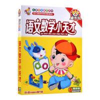 少儿童早教材汉语拼音语文数学小天才VCD光盘 宝宝学数数识字碟片