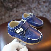 春秋儿童鞋宝宝鞋子男童皮鞋女婴儿鞋软底防滑学步鞋软