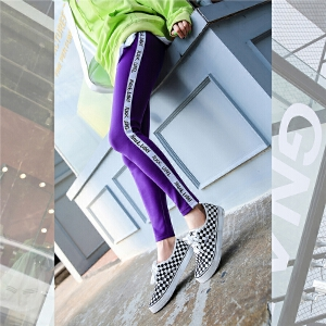 七格格高腰紧身裤秋装女2018新款修身显瘦铅笔裤冬季弹力打底裤子