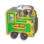 Mini Wheels: The Mini-Express 迷你车系列:迷你特快(卡板书) ISBN978076112