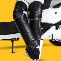 摩托车护膝防寒加厚冬季保暖男电动车骑车防风护具电动电瓶车护腿