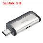 SanDisk闪迪至尊高速OTG USB3.1接口U盘 16G/32G/64G/128G 迷你高速U盘(Type-C/USB3.0双接口,安卓智能手机平板U盘扩容)