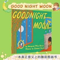 月亮晚安 英文原版 60周年纪念版 Goodnight Moon 进口童书 儿童绘本 廖彩杏吴敏兰书单 4-8岁幼儿启
