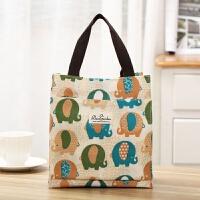 布袋 可爱便当包轻便手提包韩小清新饭兜手拎装饭盒袋子防水布小号