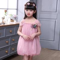 童装女童吊带裙连衣裙儿童公主裙裙子女孩纱裙子