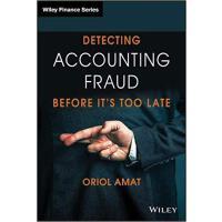 【预订】Detecting Accounting Fraud Before It'S Too Late 9781119