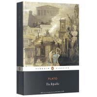 理想国 柏拉图 英文原版 The Republic 哲学思想 Plato 企鹅经典文学 柏拉图对话集对话录 古希腊 全英