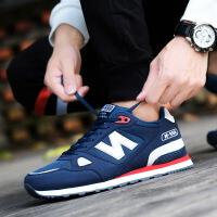 新百伦阿迪 2017夏季新款韩版透气运动鞋N字鞋男运动减震慢跑鞋透气休闲鞋男鞋
