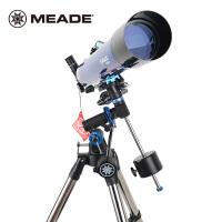 买一送三 米德天文望远镜80EQ 80/900折射式天文望远镜带赤道仪推荐观看行星观景两用