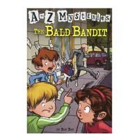 进口英文原版 The Bald Bandit A to Z 神秘案件 #2 光头大盗【6-12岁】
