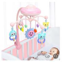 新生儿宝宝摇铃0-1岁 婴儿玩具床铃3-6-12个月音乐旋转床头铃床挂