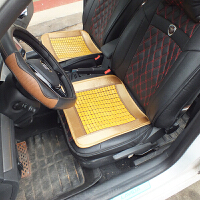 夏季麻将凉席汽车坐垫 竹子透气防滑凉垫 小车面包货车通用座垫