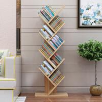 御目 书架 现代简约创意树形落地书柜简易儿童置物收纳储物架子学生落地卧室客厅书柜子家具用品
