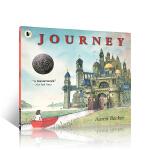 进口英文原版 Journey探索不可思议的旅程 艾伦贝克尔三部曲之一 平装 儿童启蒙晚安无字书绘本 2-6岁亲子共读激