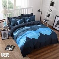 床上用品四件套 学生宿舍床单被套三件套