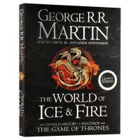 正版现货 冰与火之歌的世界 英文原版 The World of Ice and Fire 官方设定集 精装收藏版 权利