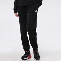 幸运叶子 Nike耐克长裤女春季加绒束口小脚休闲裤健身运动裤BV4092-010