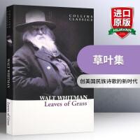 草叶集 英文原版Leaves of Grass 惠特曼浪漫主义诗集华研原版英文诗歌