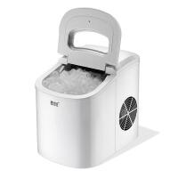 商用奶茶店方圆冰小型 制冰机家用迷你箱15KG制冰块