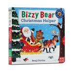 进口英文原版绘本 Bizzy Bear Christmas Helper 小熊很忙系列 忙碌的小熊 圣诞小帮手 圣诞节