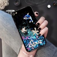 iphone6手机壳流沙时尚网红流沙液体保护防摔软边卡通女款