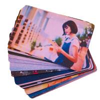 卡贴定制磨砂 卡贴定制星幻磨砂水晶果冻学生饭卡贴纸动漫公交卡贴diy优惠