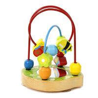 高品质宝宝花园绕珠1-3岁宝宝益智智力串珠婴儿童玩具 底座带吸盘