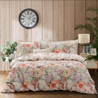 家纺床上四件套全棉纯棉网红款北欧风少女心床单被套