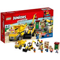 [当当自营]LEGO 乐高 Juniors小拼砌师系列 爆破现场 积木拼插儿童益智玩具10734