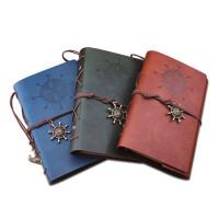 创意欧式旅行记事本小随身复古手账本A6活页笔记本文具本子日记本