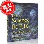 现货 科学之书 英文原版 The Science Book:从达尔文到暗能量 科学史上250个里程碑 克利福德・皮寇弗